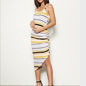 Rue21 asymmetrical striped dress M